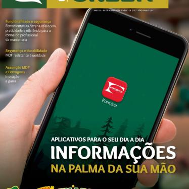 Aplicativo da Formica® é destaque na Revista Marcenaria Green