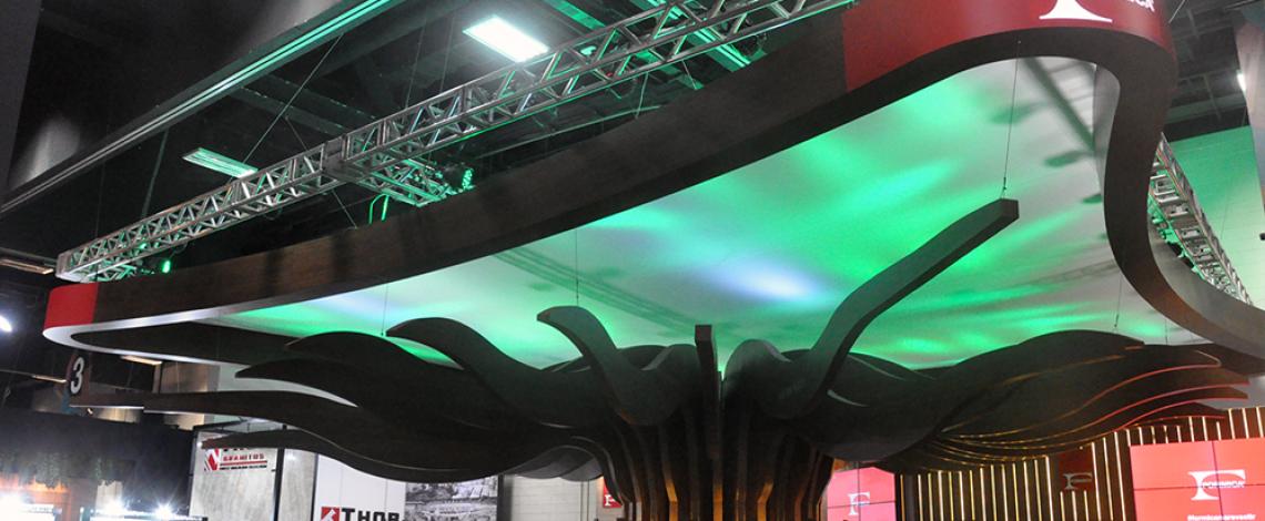 A inspiração do estande da Formica® na Expo Revestir 2018