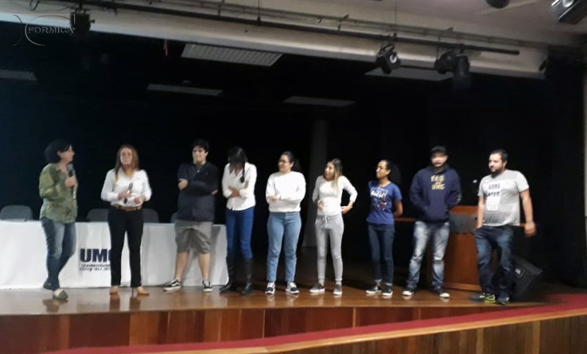 Palestra aos alunos da UMC em 17/05
