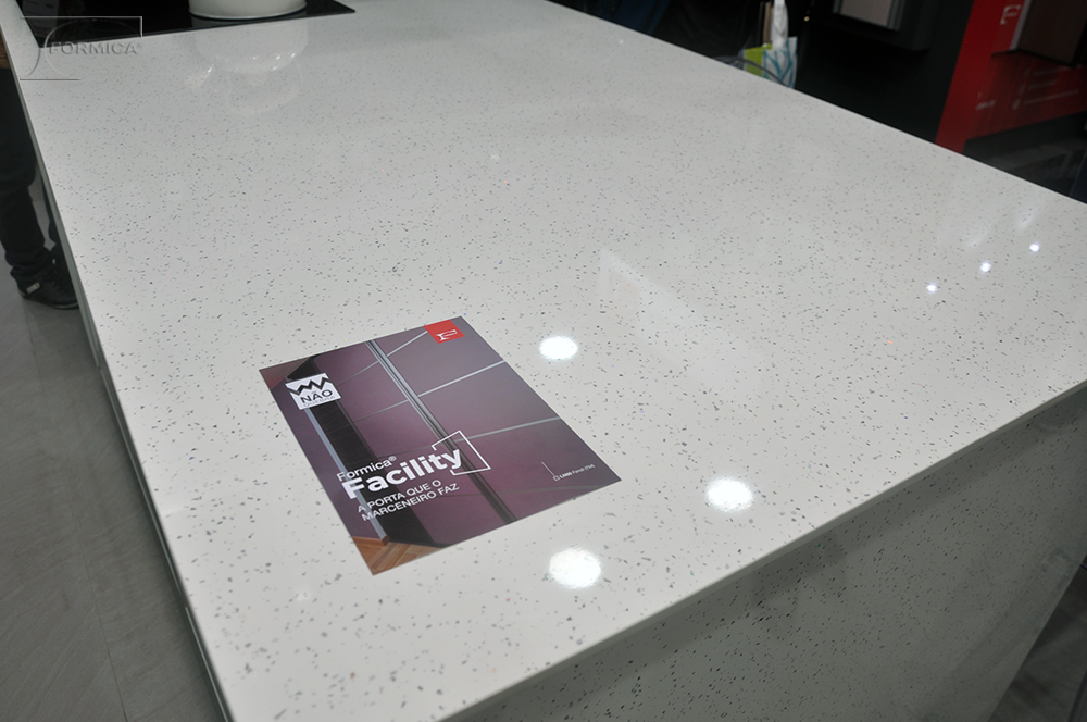 Padrões Formica® Sparks by Real Color - L 515 Branco Real