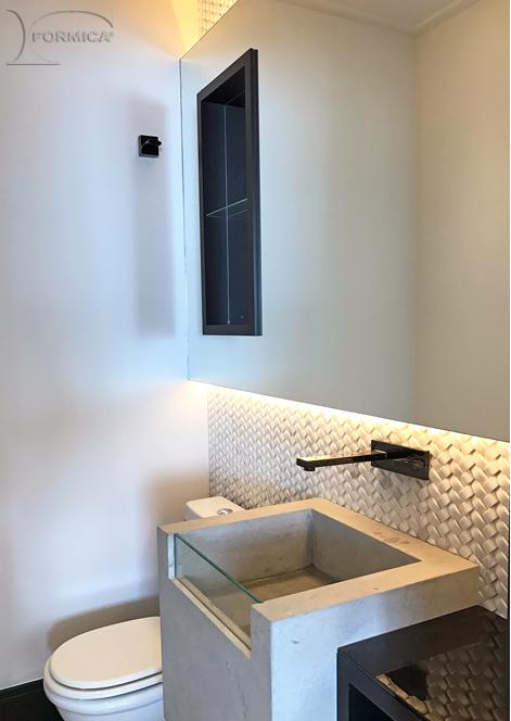 Banheiro | Projeto: Lime Arquitetura(@limearquitetura)