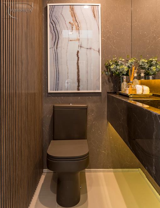 Banheiro | Projeto: Claudia Albertini Arquitetura | Foto: João Paulo Oliveira